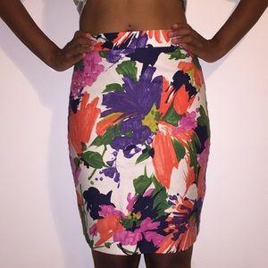 JCrew floral skirt 🌸🌼
